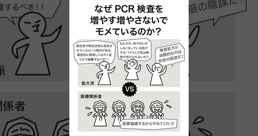 Pcr のか なぜ 増え 検査 が ない